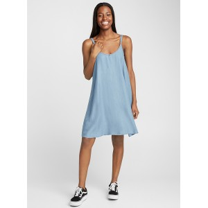 Twik Double strap lyocell dress eclectic trendy fashion Soft light and biodegradable lyocell weave with efficient moisture wicking properties to keep you comfortably cool 13688-18115