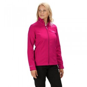 Regatta Pink 'Connie' Softshell Jacket Durable water repellent finish Wind resistant 56707_1000005046
