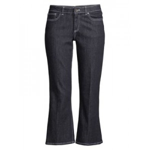 Elie Tahari Gianina Cropped Jeans Indigo Zip fly with button closure Five-pocket style 0400010565557