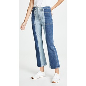 Proenza Schouler PSWL Flared Jeans 2 Tone Flare silhouette PSWLL30038 PVDRGJG