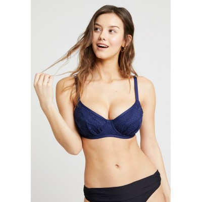Fantasie MARSEILLE GATHERED FULL CUP Bikini top twilight Back closure 85% nylon, 15% elastane