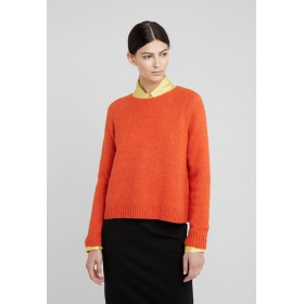 WEEKEND MaxMara CALAMO  Jumper orange Plain 45% alpaca, 23% polyamide, 15% cotton, 15% modal, 2% elastane
